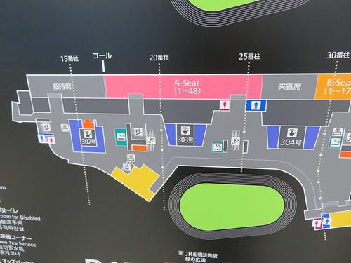 中山競馬場の3階A-Seat詳細