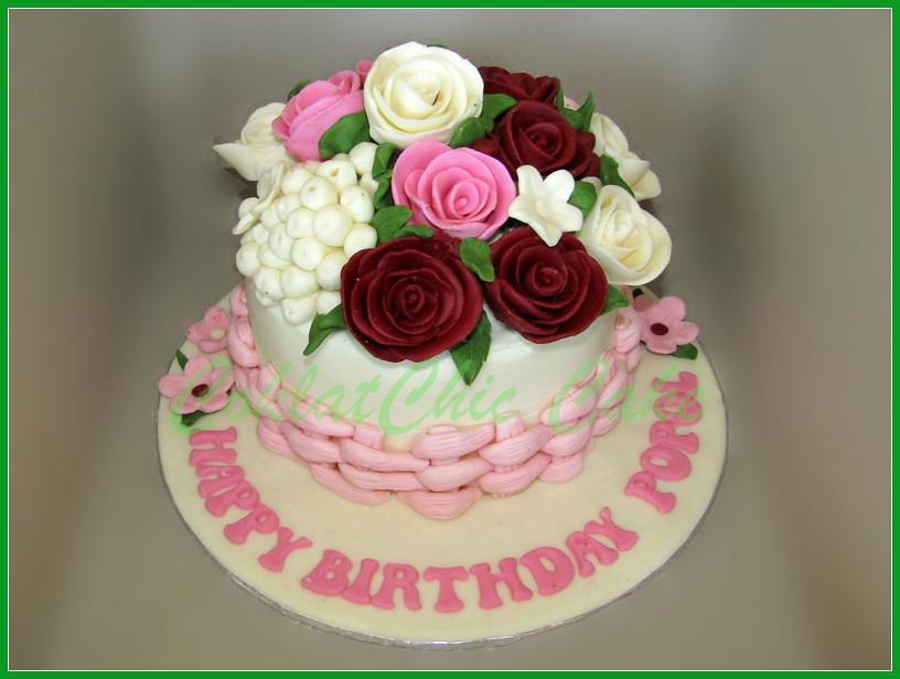 Cake Flowers Popol 15 cm