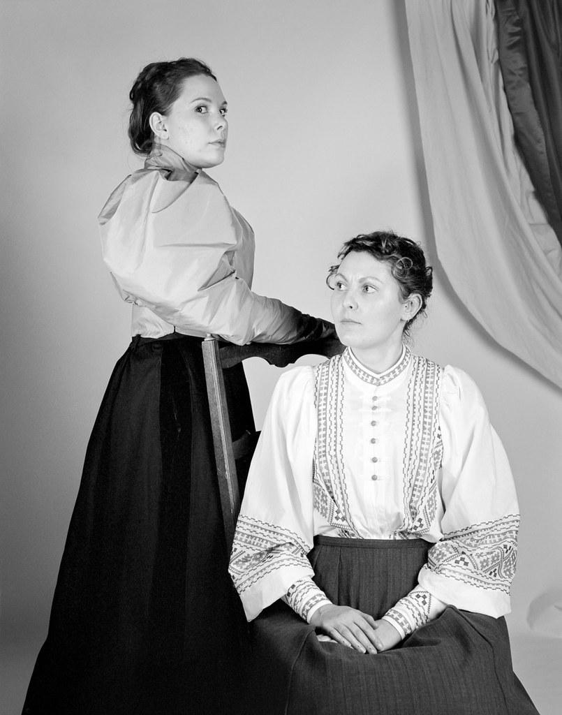 Portrait comme en 1895