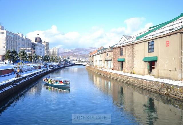 hokkaido itinerary otaru canal
