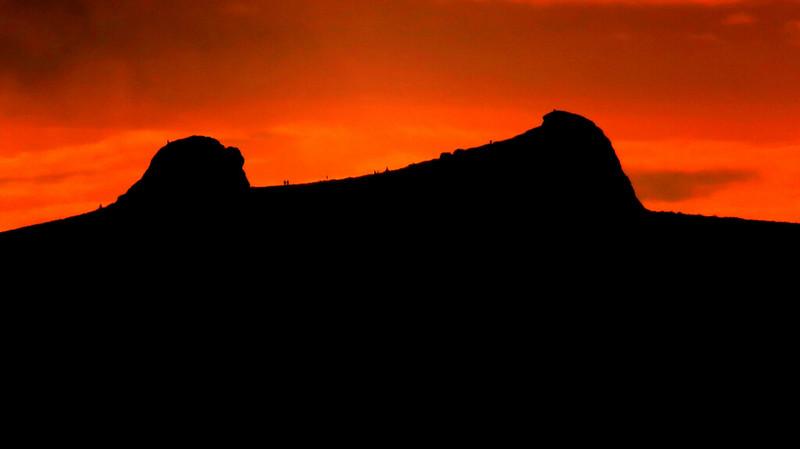 Haytor Rocks sunrise