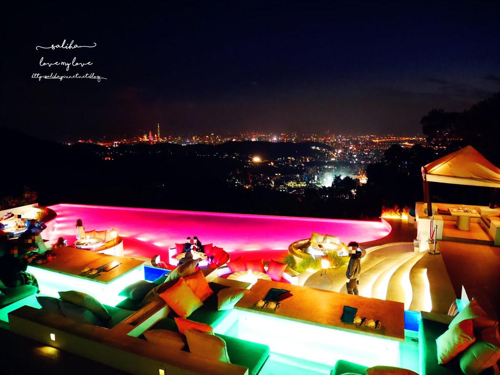 台北陽明山必吃美食夜景景觀餐廳THETOP屋頂上浪漫情人節聖誕節推薦 (1)