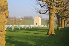 Somme American Cemetery, Bony, France, WW1. - Photo of Vendhuile