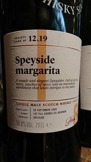 SMWS 12.19 - Speyside margarita