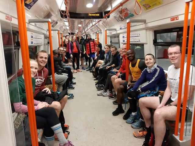 Highbury Southwark parkrun train 2