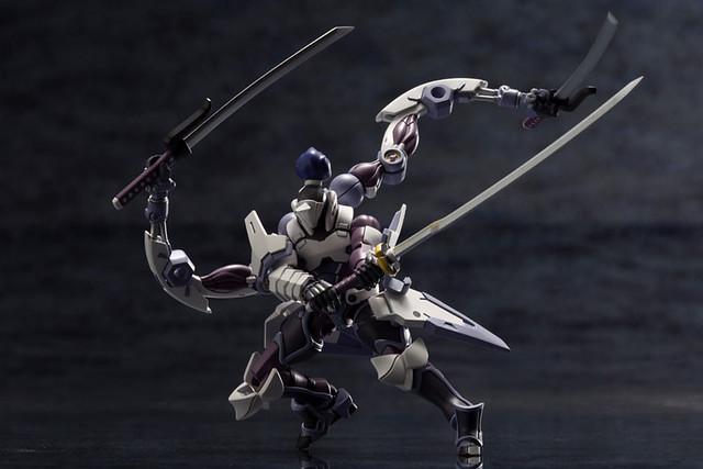 壽屋《HEXA GEAR 六角機牙》1/24 KIT BLOCK Governor Ex Armor Type:白麟角(ガバナー エクスアーマータイプ:白麟角)