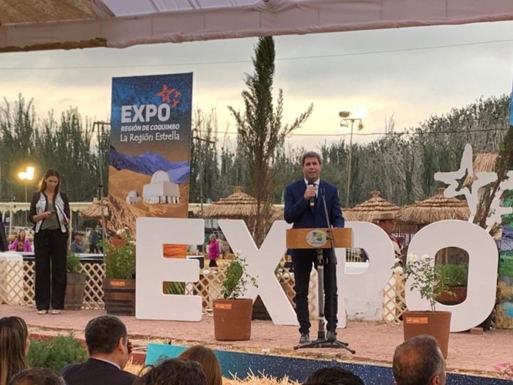 2019-02-08 Prensa: Uñac en la Expo Coquimbo