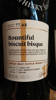 SMWS 77.48 - Bountiful biscuit bisque