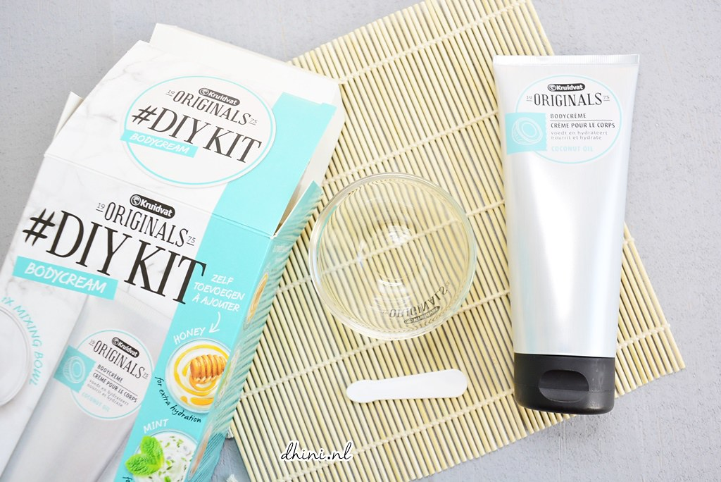 Kruidvat #DIYKit Body cream