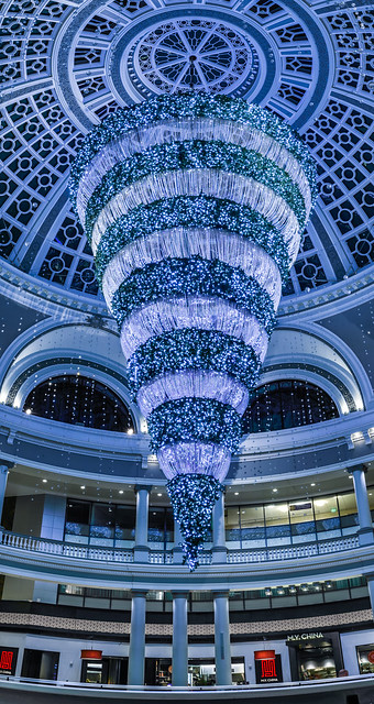 westfield christmas  dome