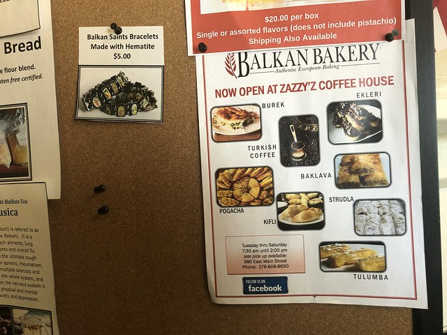 Zazzys & Balkan Bakery