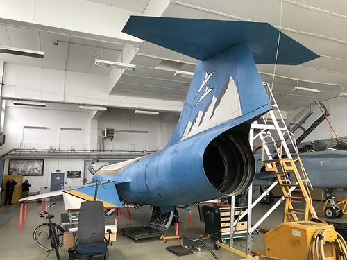 22+55, Lockheed F-104G Starfighter, TSLw1, German Air Force (7135), Kaufbeuren 10th October 2018