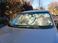 Luke, Han, And Chewie In A Subaru