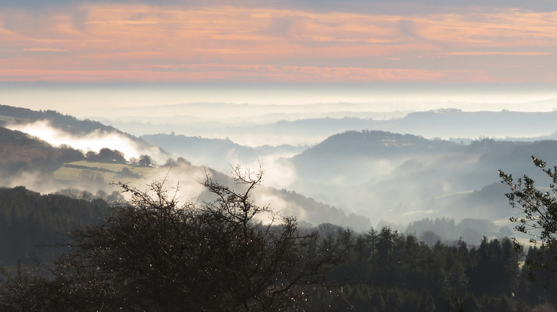 Mist over Wray Valley