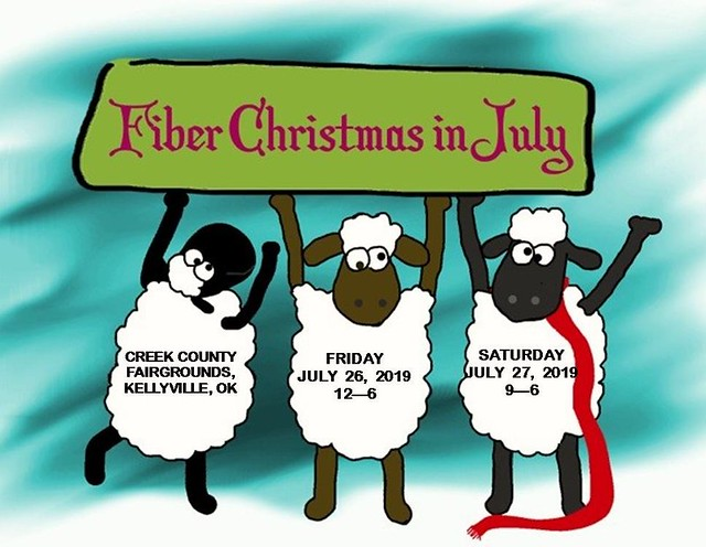 Fiber Christmas –       it's a fibery Christmas in July!