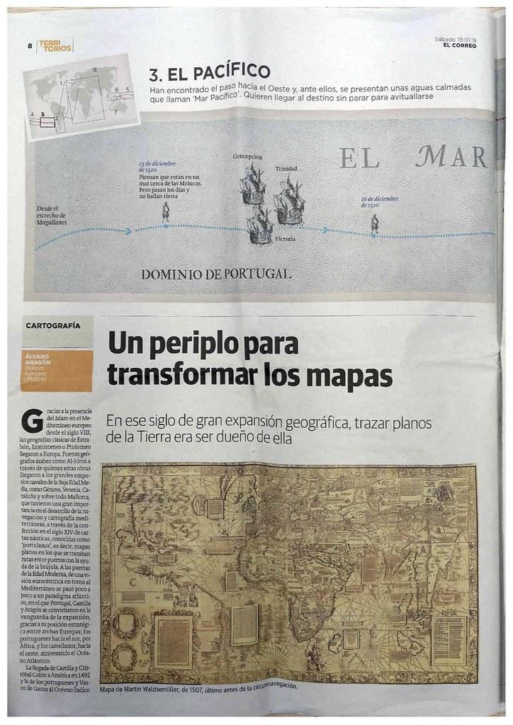 Periplo para transformar los mapas