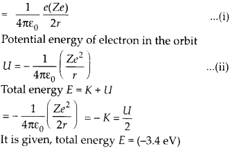 NCERT Solutions for Class 12 Physics Chapter 12 Atoms 15
