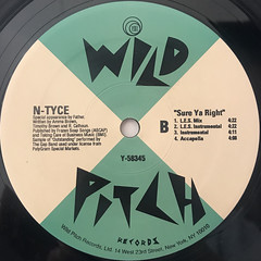 N-TYCE:SURE YA RIGHT(LABEL SIDE-B)