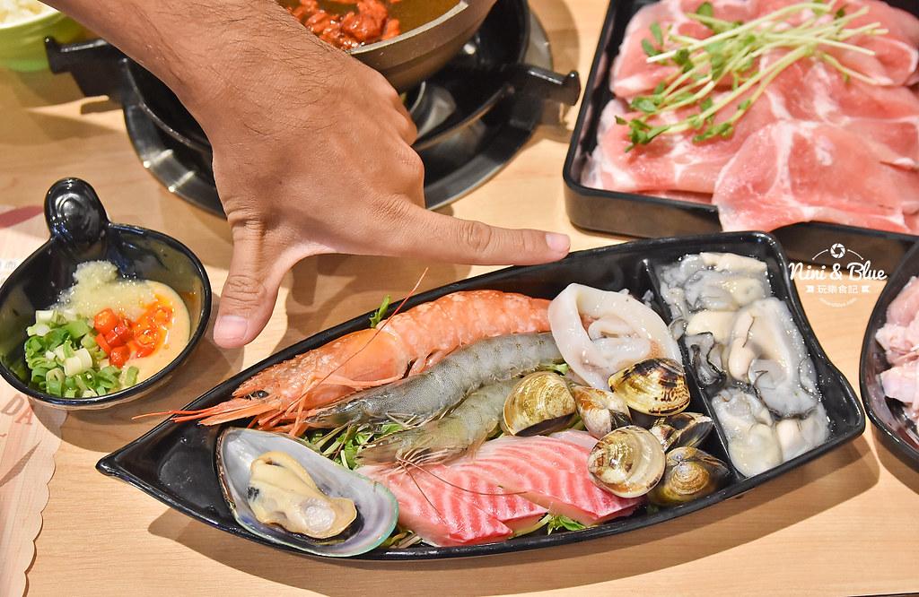 台中火鍋推薦 大樂鍋 海陸鍋 燒酒雞 麻辣19