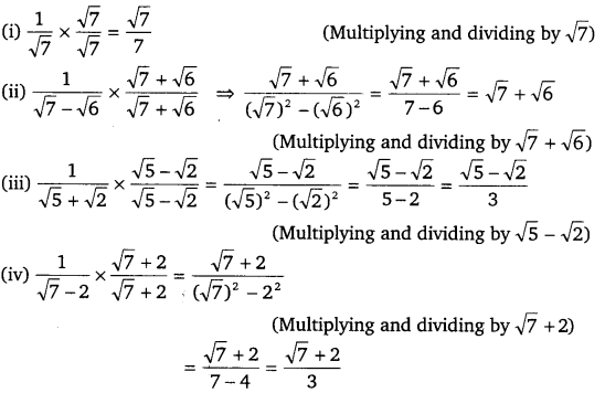 NCERT Solutions for Class 9 Maths Chapter 1 Number Systems 21