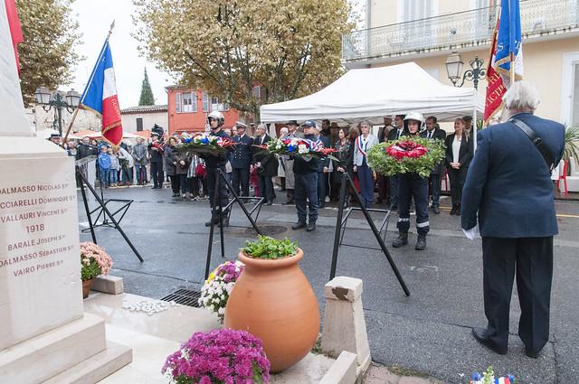 Commémoration des 100 ans de l'Armistice du 11 novembre 1918