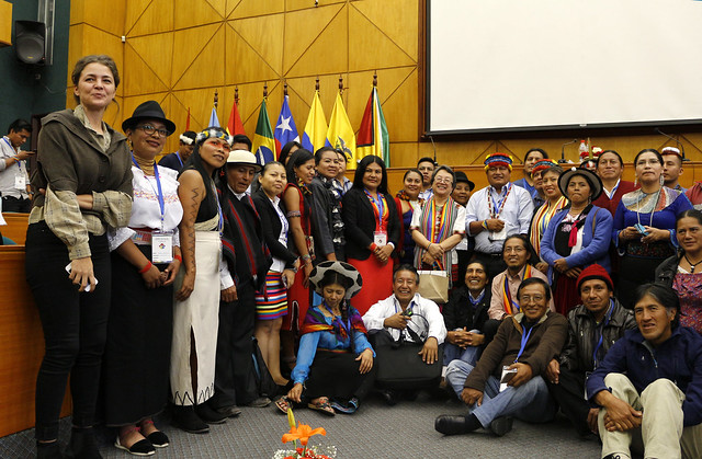 Vicky Tauli - Asamblea nacional con organizaciones indígenas