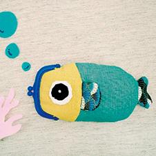 魚兒魚兒水中游口金包