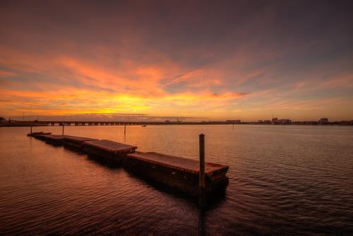 sunrise river water sun landscape florida fl fla palmetto manateeriver floridasunrise