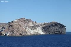 Paissaje de mar y fuego - Santorini