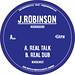 "J.ROBINSON WHODEMSOUND - Real Talk (7"")..."