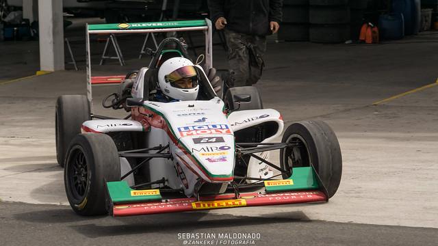 Galeria Novena Fecha - Fórmula 3 - Sebastian Maldonado