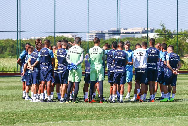 Treino Grêmio 23/11/18