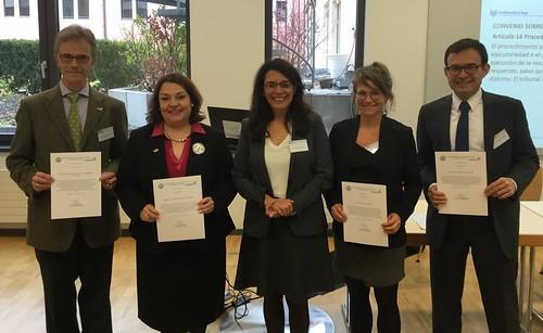 Cónsul Villanueva participa en Congreso de Asociación Mexicano-Alemana de Juristas en Würzburg