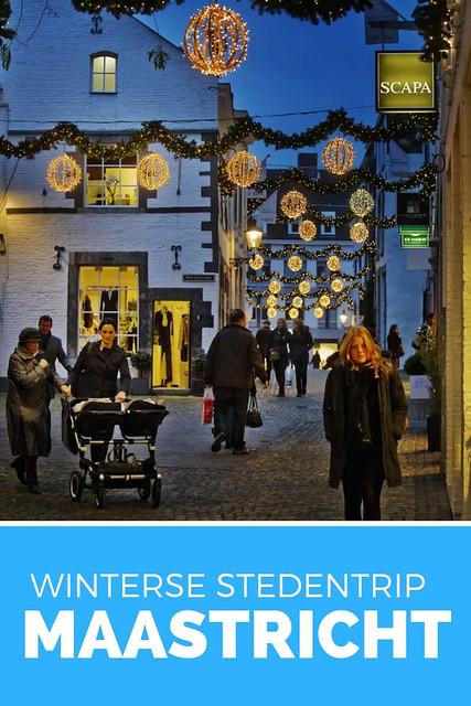 Stedentrip Maastricht in de winter: ga naar de kerstmarkt in Maastricht of ga lekker kerstshoppen in Maastricht | Mooistestedentrips.nl