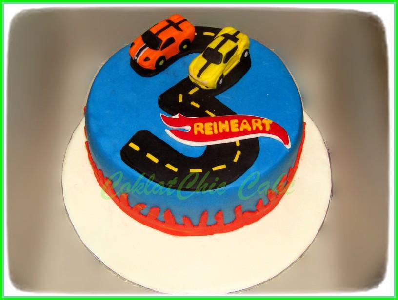Cake Hotwheels REIHEART 20 cm