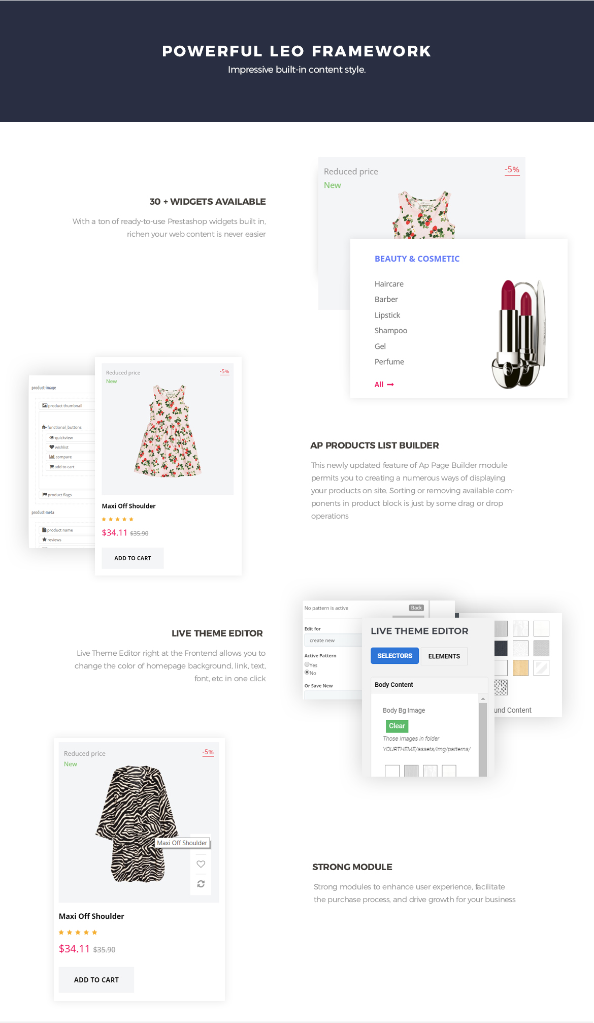 Powerful Leo Framework - Leo Shopsmart Prestashop theme - Hitech store