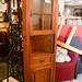 Corner display mahogany E100