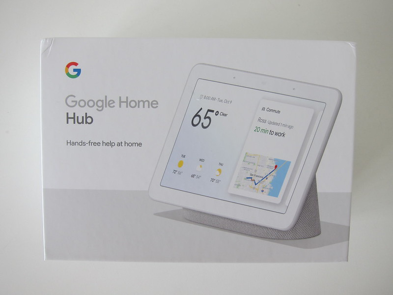 Google Home Hub - Box Front