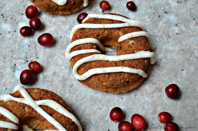 Cranberry Pecan Doughnuts 4