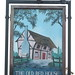 The Old Red House pub sign Carlton Colville Suffolk UK