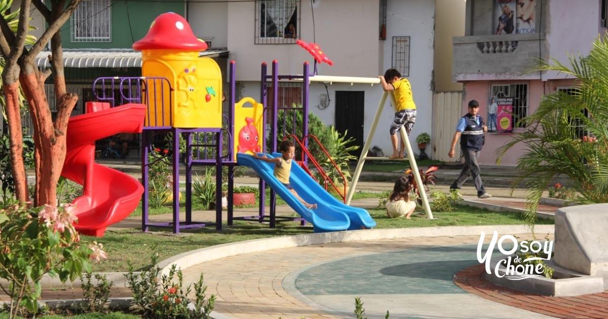 76 familias disfrutan del parque en la 6 de Diciembre