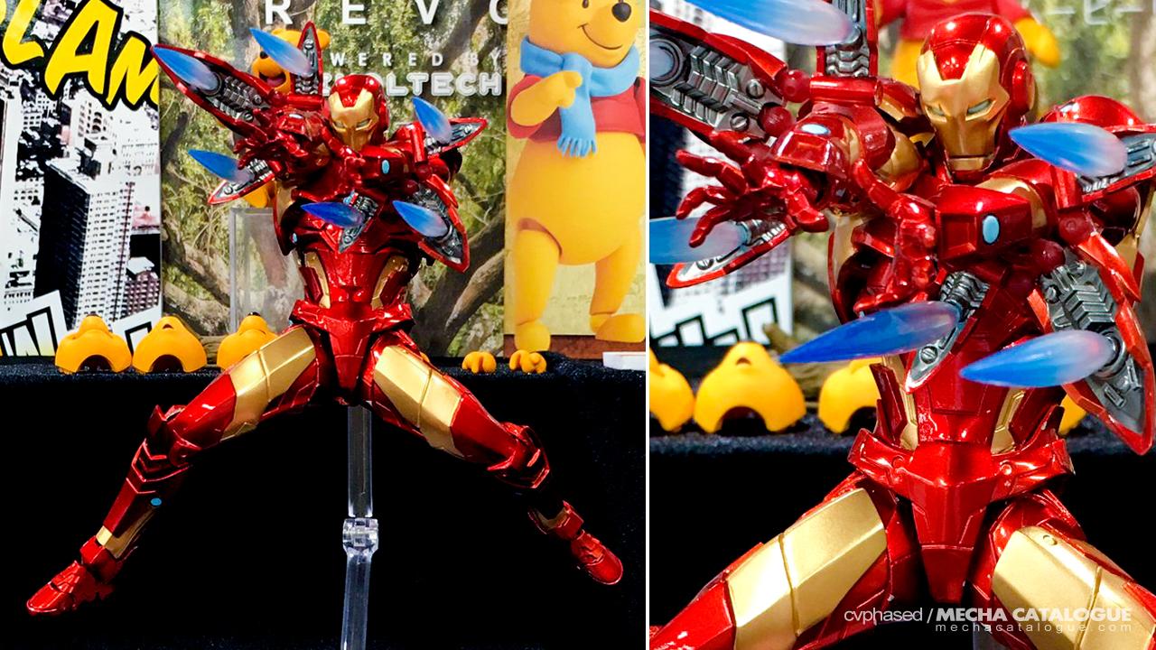 "Amazing Yamaguchi Iron Man ""Bleeding Edge"" Armor"