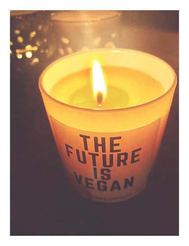 the future is vegan 💚, scented candle from thehappywhale.se, jan 1, 2019