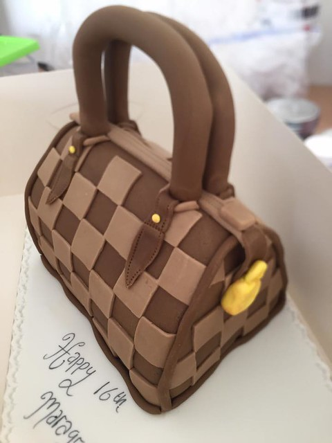 Birthday Cake Bag by Kerrys Sweet Cakes