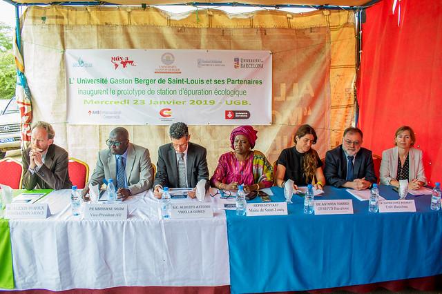 Inauguració planta tractament aigües residuals Senegal (23/01/2018)