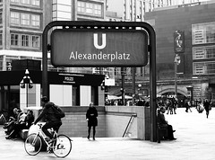 U Bahn Alexanderplatz