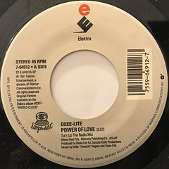DEEE-LITE:POWER OF LOVE(LABEL SIDE-A)