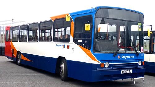 N215 TDU 'Stagecoach' No. 20215. Volvo B10M / Alexander PS on Dennis Basford's railsroadsrunways.blogspot.co.uk'