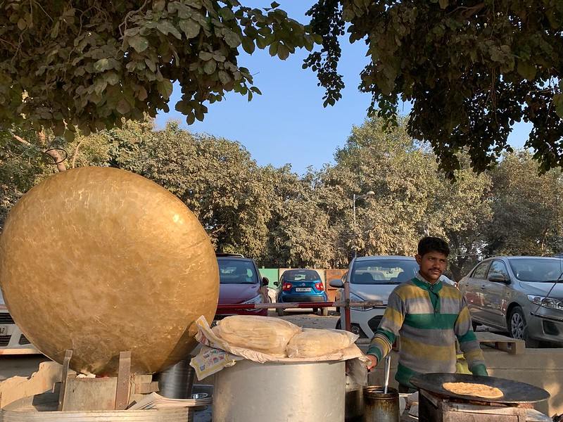 City Food - Snack Cart Pots, Mathura Road