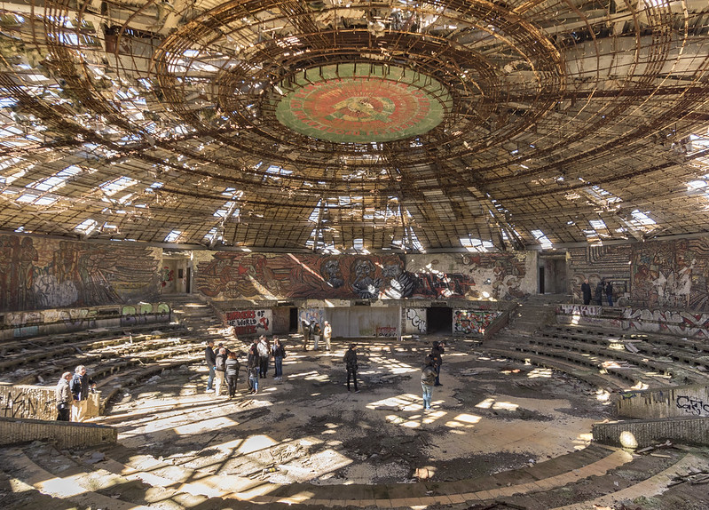 7 Most Endangered 2018 Mission to the Buzludzha Monument, Bulgaria